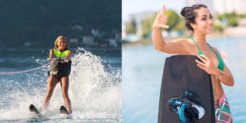 wakeboard et ski nautique